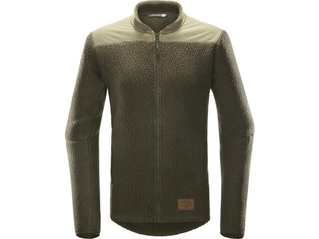 Haglöfs Pile Jacket Herre Deep Woods/Sage Green
